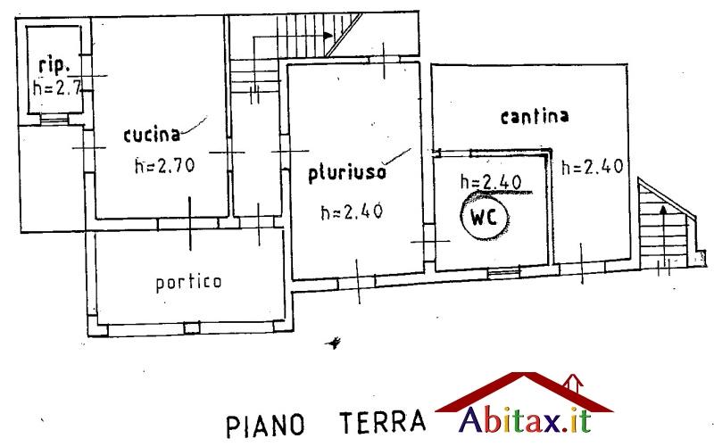 Vendita ville e case indipendenti foiano della chiana for Planimetrie del cottage del cortile
